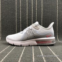 Free Shipping Nike Air Max Sequent 3 Half-palm Cushion Running Shoes 908993-012 Size