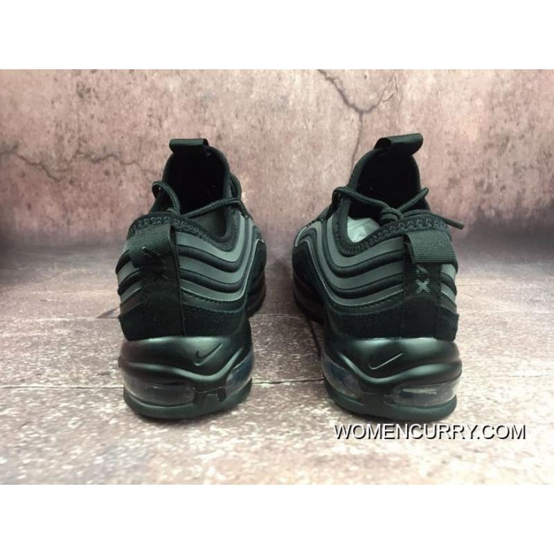 80a0d27329a5c Nike Men Shoes Air Max 97 Black Bullet 3M Reflective Zoom Running Shoes  924452-001 New Style