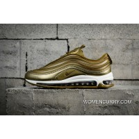 New Style Nike Air Max 97 Ul 17 Green Bullet Full-palm Cushion Running Shoes 917704-901