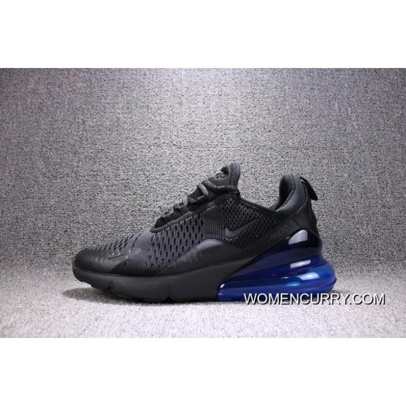 For Sale Nike Air Max 270 New Heel Half palm Cushion Jogging Shoes Men Shoes AH8050 009