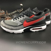 Nike Air Max Premium BW 819523-067 Dark Grey Red New Style