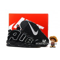 Nike Air More Uptempo Black/White Super Deals