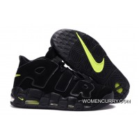 Nike Air More Uptempo 'Black/Black-Volt' Online