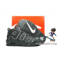 Nike Air More Uptempo Dark Grey/White Release Best