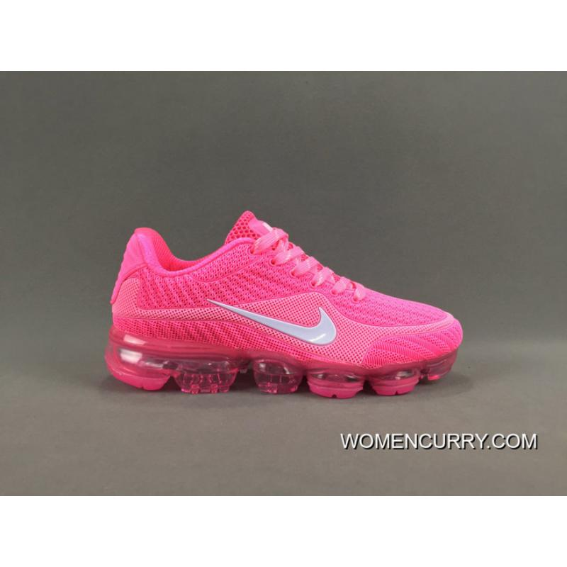 premium selection 92ae3 355cd NIKE AIR VAPORMAX FLYKNIT 2018 Pink Lastest