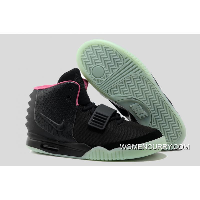 e8cc98f63 Glow In The Dark Nike Air Yeezy 2  Black Solar Red  Super Deals ...