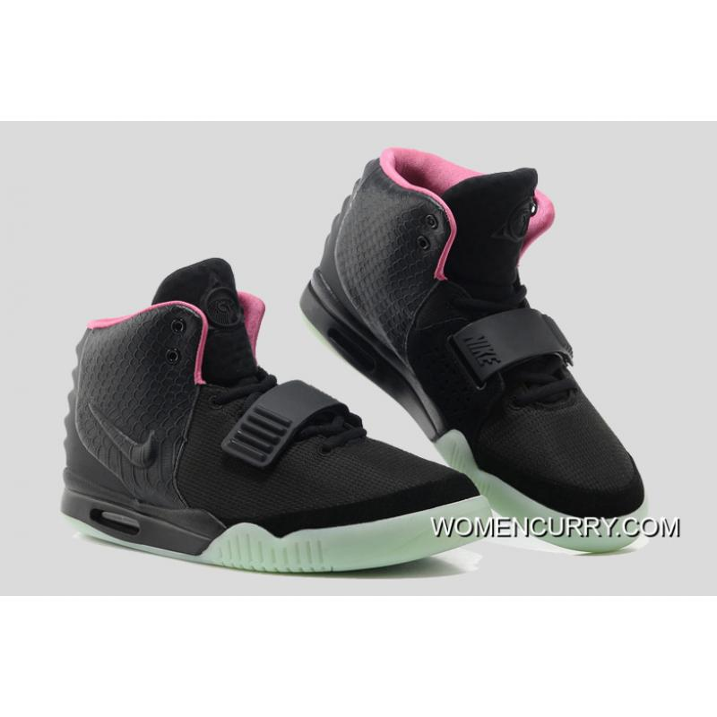 the best attitude 6a467 a67c1 ... Glow In The Dark Nike Air Yeezy 2  Black Solar Red  Super Deals ...