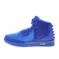 "Nike Air Yeezy 2 ""Gamma Blue"" Glow In The Dark Top Deals ZXFKR"