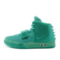 "Nike Air Yeezy 2 ""Green Lantern"" Glow In The Dark Cheap To Buy CnsebTW"