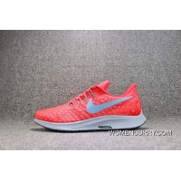 Nike AIR ZOOM PEGASUS 35 Mesh Breathable Running Shoes 942851-600 Women Shoes And Men Shoes Copuon