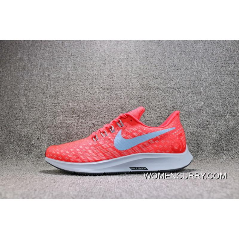 48f5491d67c78 ... Nike AIR ZOOM PEGASUS 35 Mesh Breathable Running Shoes 942851-600 Women  Shoes And Men ...