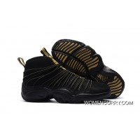 Nike Zoom Cabos Gary Payton Black And Gold For Sale