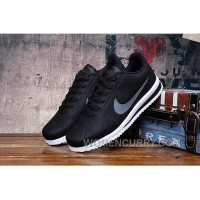 Top Deals GREY BLACK NIKE CORTEZ RETRO 3