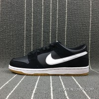 Nike Dunk SB Low Pink Pro Black Gum Department Black Rubber Sport Skateboard Shoes Size 854866-019 Best
