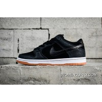 Nike Dunk Low Prm SB Entourage Black Burst 504750-04020 Free Shipping