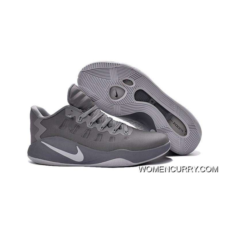 cheaper dc01b 7ac5e ... low price nike hyperdunk low cool grey mens basketball shoes free  shipping 5a71d 53ba7