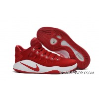 Nike Hyperdunk Low Red White Men's Basketball Shoes New Style