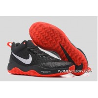 Nike Hyperrev Black/White Red Men's Basketball Shoes For Sale