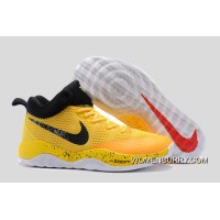 Nike Hyperrev Yellow Black Men's Basketball Shoes Lastest