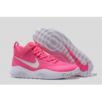 Nike Hyperrev Pink White Men's Basketball Shoes Best