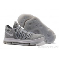 "Super Deals Nike KD 10 ""Cool Grey"""
