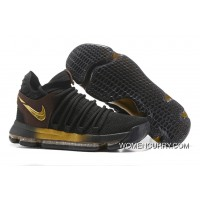 "Nike KD 10 ""Black Gold"" Copuon"