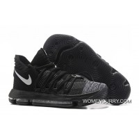 Nike KD 10 Black Grey White Copuon