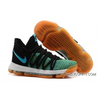 "Discount Nike KD 10 ""Birds Of Paradise"" Black/Clear Jade"