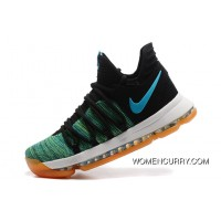 Nike KD 10 Green Black White Men Shoes Kevin Durant New Release