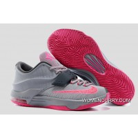 'Calm Before The Storm' Nike KD 7 Base Grey/Hyper Punch-Light Magnet Grey Authentic