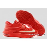 'Global Game' Nike KD VII (7) Action Red/Metallic Silver Best