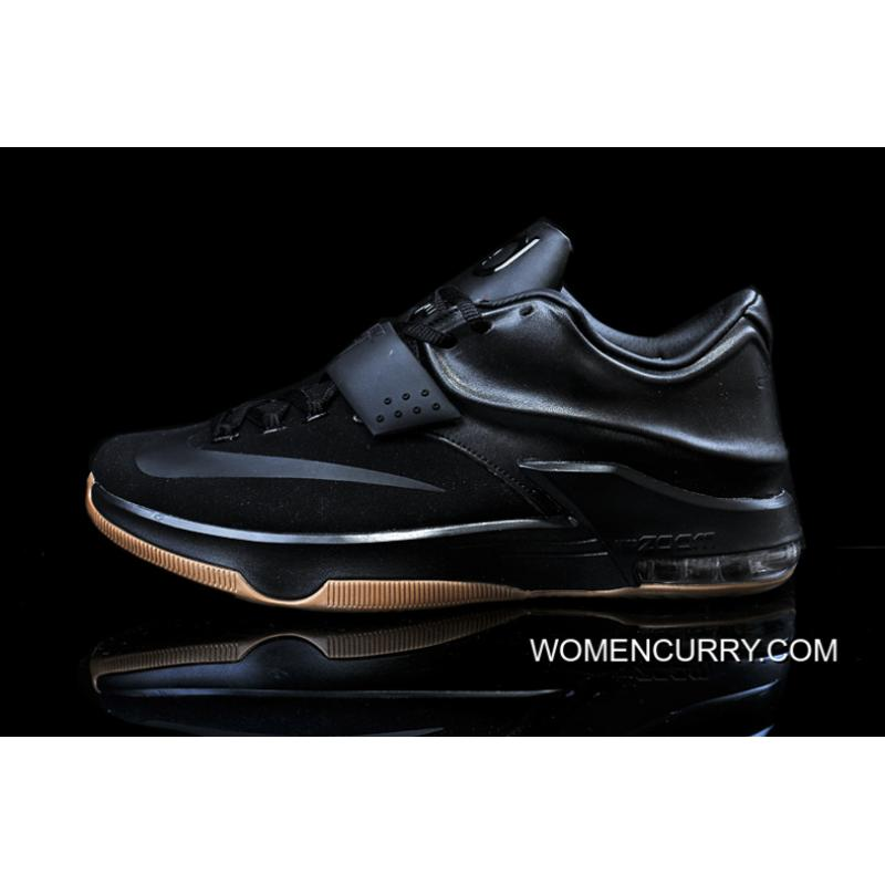 ... Nike KD 7 'Black Suede' Men's Basketball Shoes Discount ...