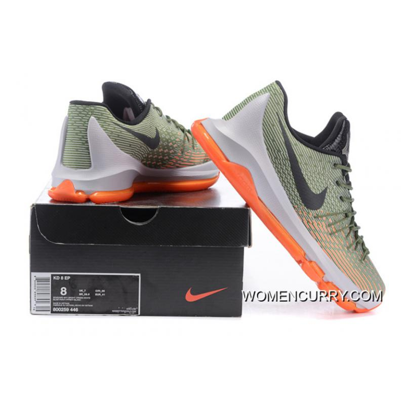 "factory price 6b164 db8de ... ""Easy Euro"" Nike KD 8 Lunar Grey Squadron Green-Alligator-Bright · "" ..."