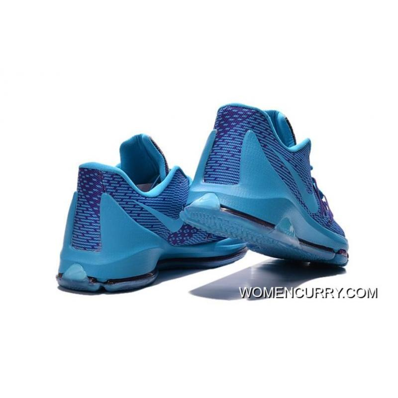 newest c6ae4 a613a Nike KD 8 Blue Purple Men's Basketball Shoes Free Shipping