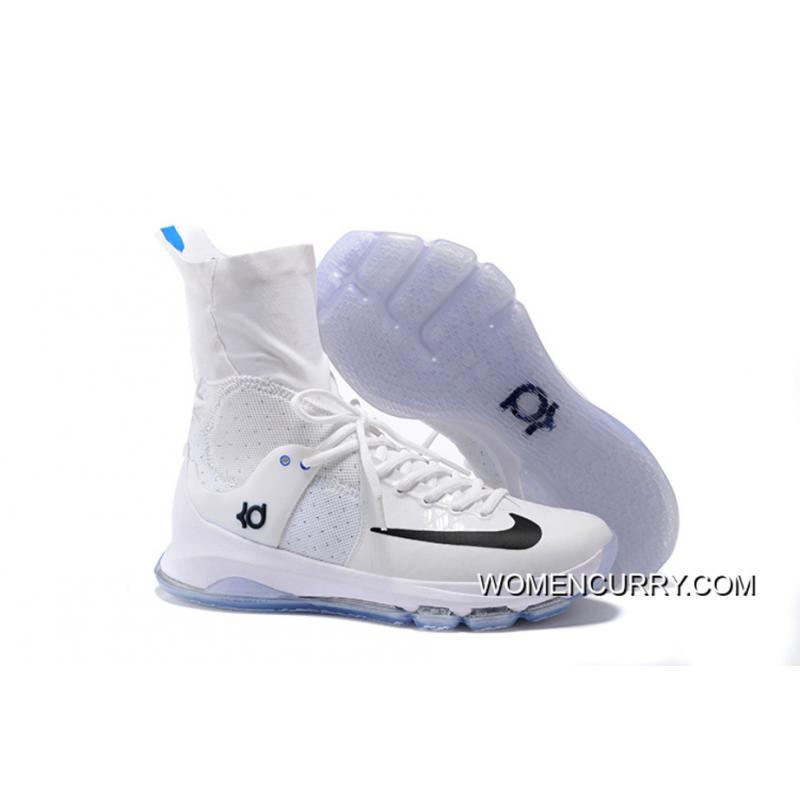 new arrival 4f470 a3388 'Home' Nike KD 8 Elite White/Star Blue-Midnight Navy-Photo Blue Copuon Code