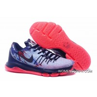 'Independence Day' Nike KD 8 Soar/Midnight Navy-Bright Crimson-White For Sale