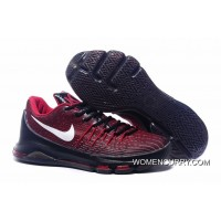 Nike KD 8 Red Black Men's Basketball Shoes Authentic
