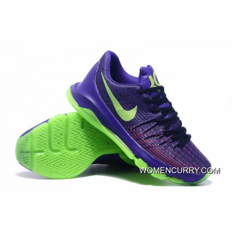 sale retailer c3ab5 ce40a 'Suit' Nike KD 8 Purple/Green Strike-Vivid Purple-Bright Crimson Cheap To  Buy
