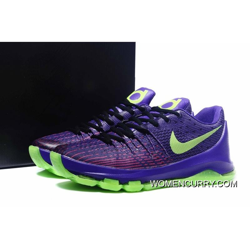 sale retailer de845 983ac 'Suit' Nike KD 8 Purple/Green Strike-Vivid Purple-Bright Crimson Cheap To  Buy