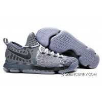 'Battle Grey' Nike KD 9 Wolf Grey/Dark Grey For Sale
