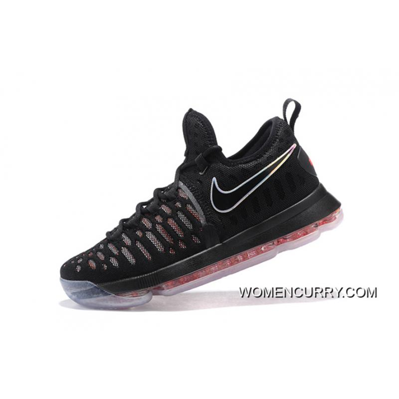 online store fc5ca 834d5 ... Nike KD 9 Black Red Men s Basketball Shoes New Release ...