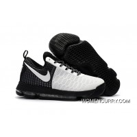 Nike KD 9 Black White Men's Basketball Shoes Copuon Code