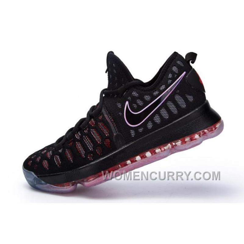 b49a00a2e970 ... Nike KD 9 Black Red Mens Basketball Shoes Authentic M58Rm ...