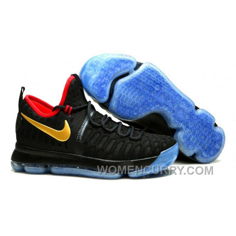 """new concept 9375a 1afff Nike KD 9 """"Gold Medal"""" Olympics Mens Basketball Shoes For Sale 76pxz"""