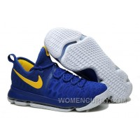 "Nike KD 9 ""Golden State Warriors"" Mens Basketball Shoes Christmas Deals 6hW44yc"