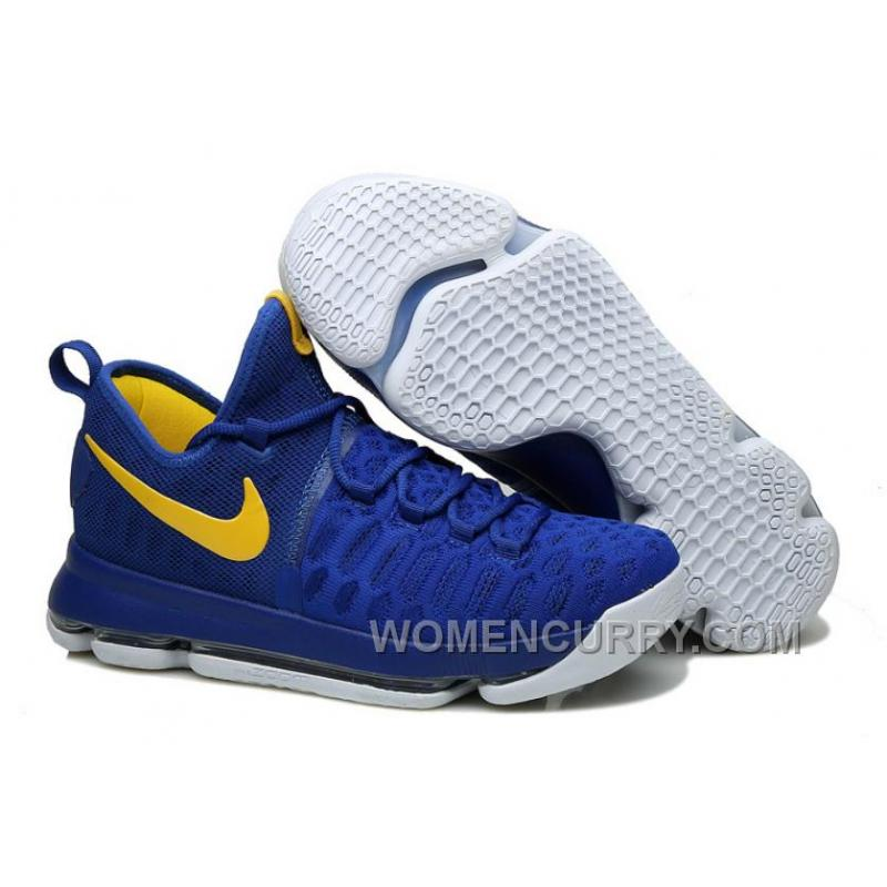 "finest selection 6ee01 d1d86 Nike KD 9 ""Golden State Warriors"" Mens Basketball Shoes Christmas Deals  6hW44yc"