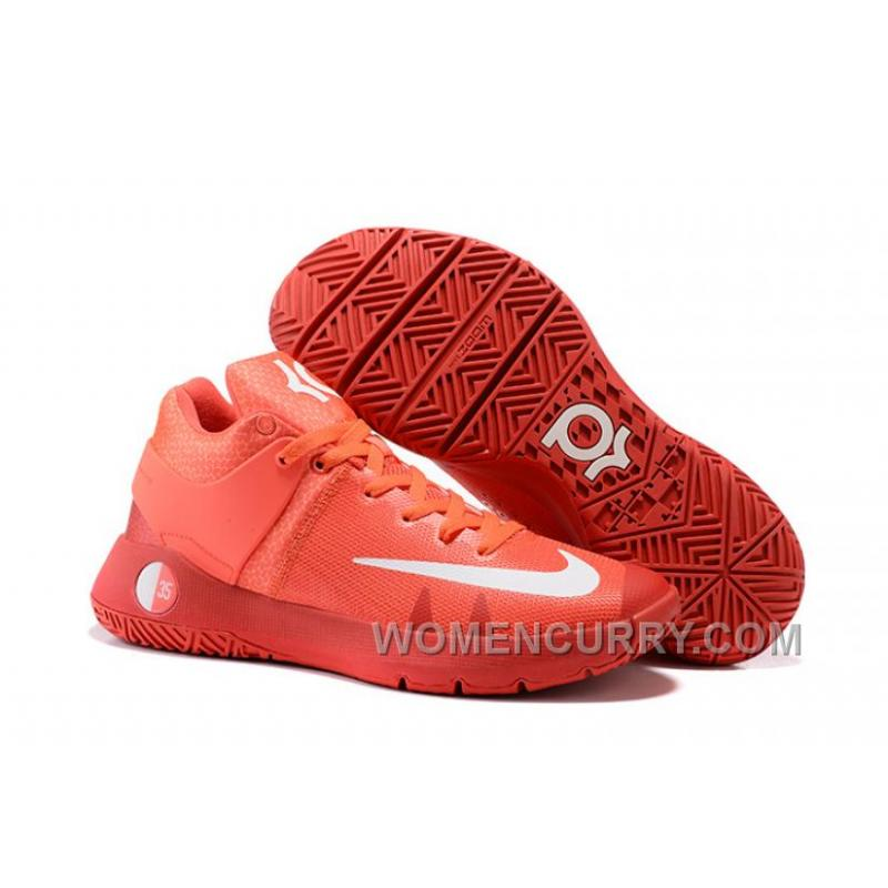 Nike KD Trey 5 IV Bright Crimson/University Red/Metallic Silver/White For  ...