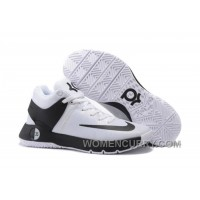 "Nike KD Trey 5 IV ""Team"" White/Black Mens Basketball Shoes Top Deals Aw5dHma"