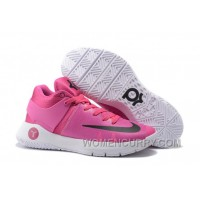 "Nike KD Trey 5 IV ""Think Pink"" Vivid Pink/Black-Pink Blast Authentic ZPdjSBY"
