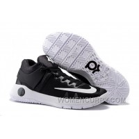 Nike KD Trey 5 IV Black/Dark Grey/White Mens Basketball Shoes Online XxRiBjm